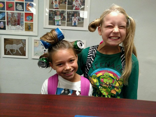 Crazy Hair Day!
