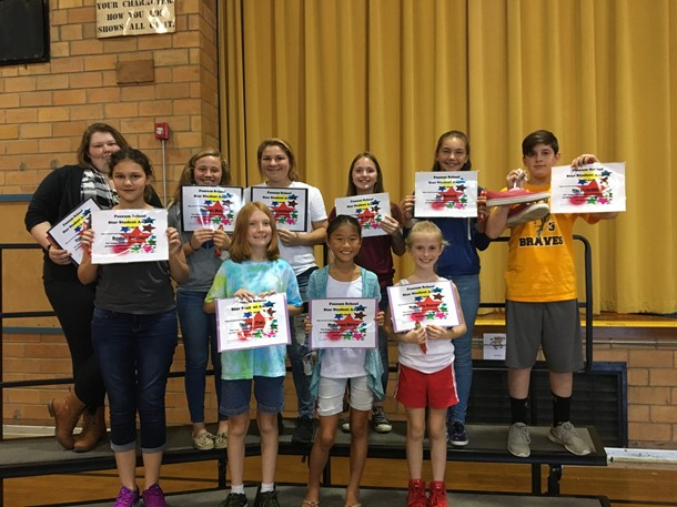 August/September Star Students-Middle