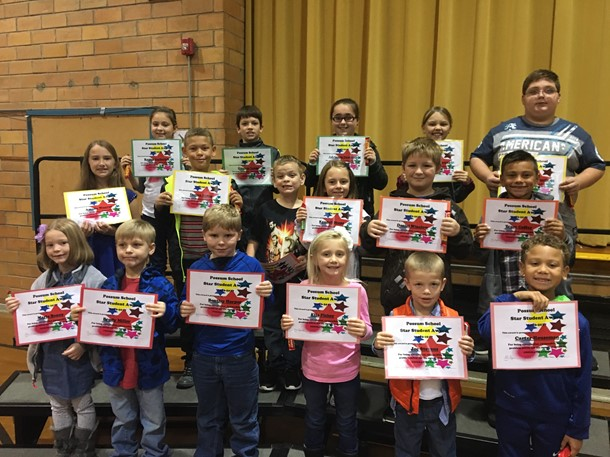 October Star Student - Elementary
