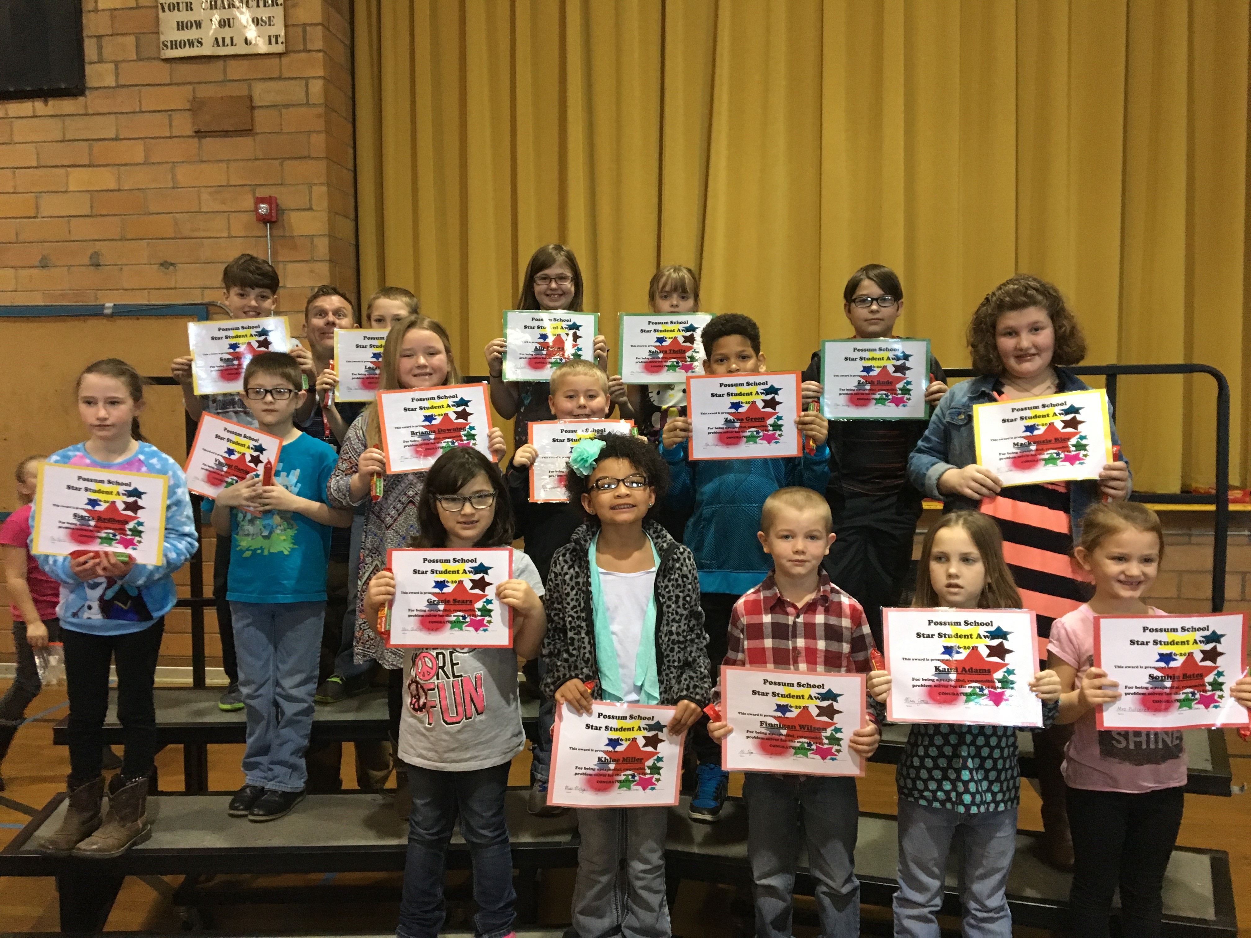 February Star Students - Elementary