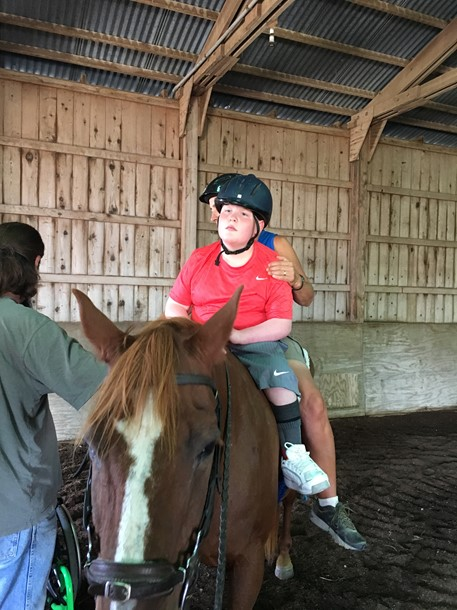 Horseback riding fun!