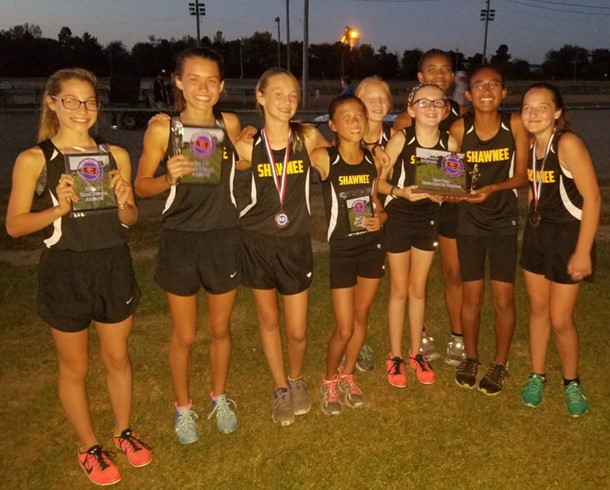 Girls Cross Country Team #1